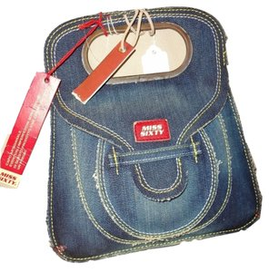 Miss Sixty Tote In Blue