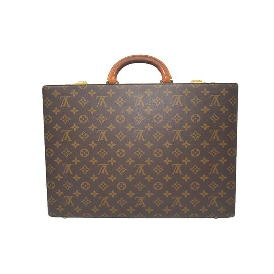 Preload https://item1.tradesy.com/images/louis-vuitton-monogram-briefcase-brown-canvas-laptop-bag-23333745-0-0.jpg?width=440&height=440