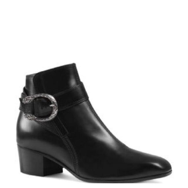 Gucci Dionysus Leather Ankle Women Boots/Booties Size EU 40 (Approx. US 10) Regular (M, B) Gucci Dionysus Leather Ankle Women Boots/Booties Size EU 40 (Approx. US 10) Regular (M, B) Image 1