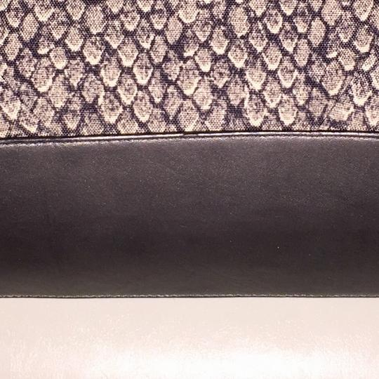 Coach Satchel in Gunmetal Snakeprint