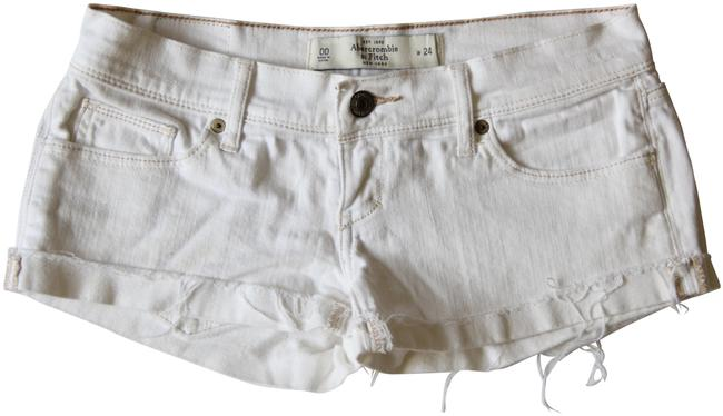 Preload https://item2.tradesy.com/images/abercrombie-and-fitch-white-women-s-denim-w-24-cut-off-shorts-size-00-xxs-24-23333761-0-2.jpg?width=400&height=650
