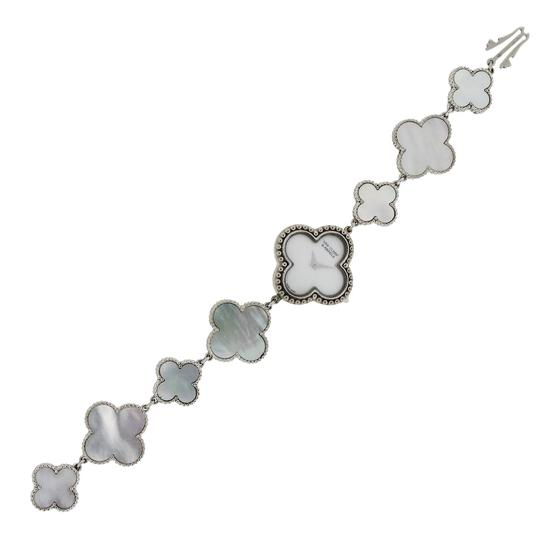 Van Cleef & Arpels Van Cleef & Arpels Alhambra 18k White Gold and Mother of Pearl Ladies
