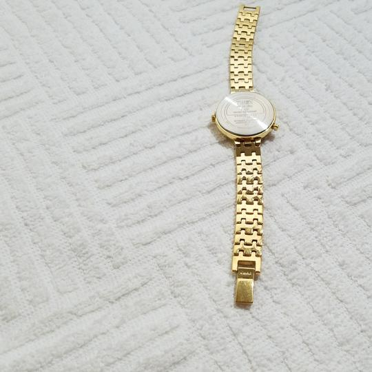 Timex Timex Indiglo Gold Tone Ivory Dial Watch