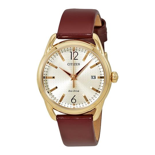 Preload https://item5.tradesy.com/images/citizen-red-champagne-drive-dial-ladies-leather-watch-23333804-0-0.jpg?width=440&height=440