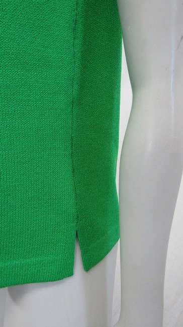 St. John Knit Shell M Top green