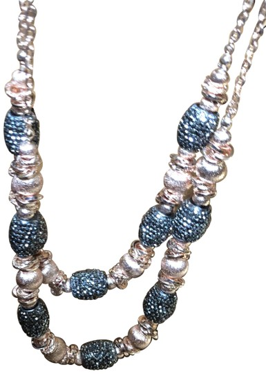 Preload https://img-static.tradesy.com/item/23333818/carol-dauplaise-n-w-t-rose-gold-sparkling-double-layer-necklace-0-4-540-540.jpg