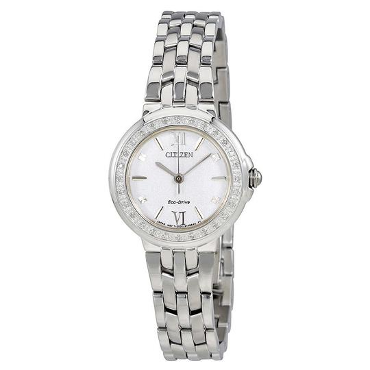 Preload https://item4.tradesy.com/images/citizen-white-silver-tone-diamond-dial-roman-numerals-ladies-watch-23333828-0-0.jpg?width=440&height=440