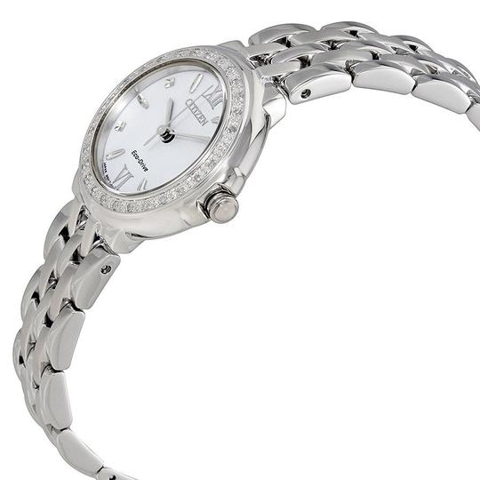 Citizen Diamond White Dial Roman Numerals Ladies Watch