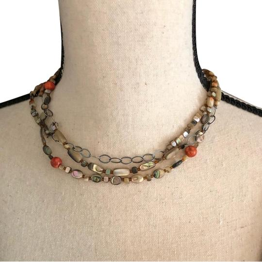 Preload https://item3.tradesy.com/images/silpada-natural-mother-of-pearl-and-coral-necklace-23333832-0-1.jpg?width=440&height=440