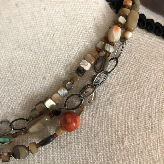 Silpada Mother of Pearl & Coral Necklace
