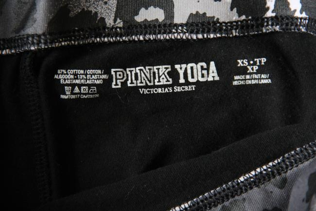 PINK VICTORIA'S SECRET PINK BLING FOLD OVER YOGA PANTS LEGGINGS SIZE XS