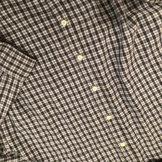 J.Crew Button Down Shirt Navy Plaid