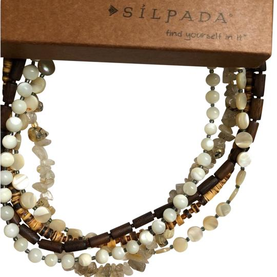 Preload https://item5.tradesy.com/images/silpada-natural-pearl-and-wood-bead-necklace-23333859-0-1.jpg?width=440&height=440