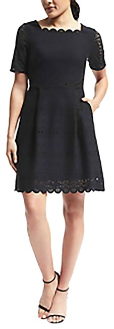 Preload https://item3.tradesy.com/images/banana-republic-black-mid-length-cocktail-dress-size-2-xs-23333897-0-1.jpg?width=400&height=650