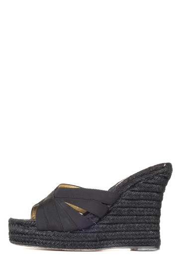 Preload https://item1.tradesy.com/images/christian-louboutin-black-espadrille-wedges-size-eu-36-approx-us-6-regular-m-b-23333920-0-0.jpg?width=440&height=440