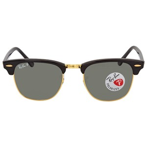 Ray-Ban Ray Ban Clubmaster Green Classic G-15 Sunglasses RB3016 90158E