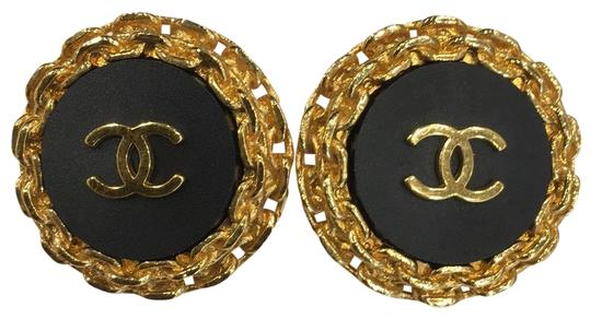 Preload https://item4.tradesy.com/images/chanel-black-gold-94p-vintage-cc-6059-earrings-23333953-0-3.jpg?width=440&height=440