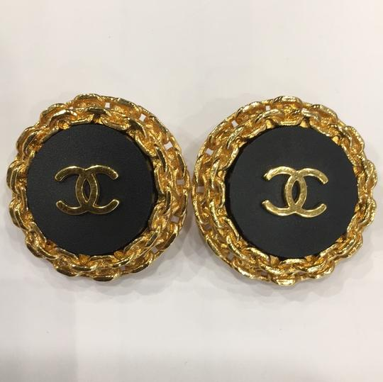 Chanel CHANEL 94P VINTAGE CC EARRINGS 6059