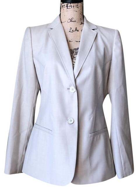 Preload https://item5.tradesy.com/images/calvin-klein-tan-blazer-size-6-s-23333959-0-1.jpg?width=400&height=650