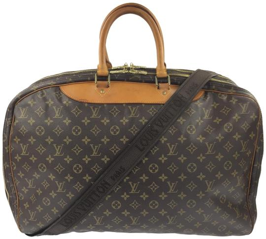 Preload https://item2.tradesy.com/images/louis-vuitton-soft-sided-monogram-suitcase-brown-coated-canvas-weekendtravel-bag-23333976-0-2.jpg?width=440&height=440