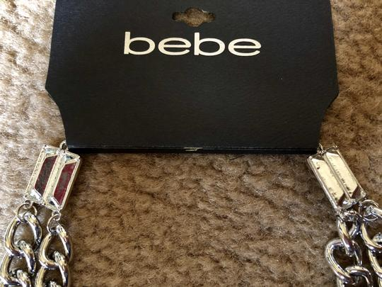 bebe Brand New Double-layered chain necklace Bebe!