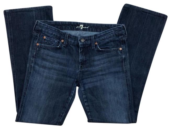 Preload https://item5.tradesy.com/images/7-for-all-mankind-blue-boot-cut-jeans-size-8-m-29-30-23333989-0-1.jpg?width=400&height=650
