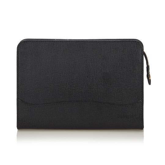 Preload https://item4.tradesy.com/images/burberry-black-leather-x-others-clutch-23333998-0-0.jpg?width=440&height=440