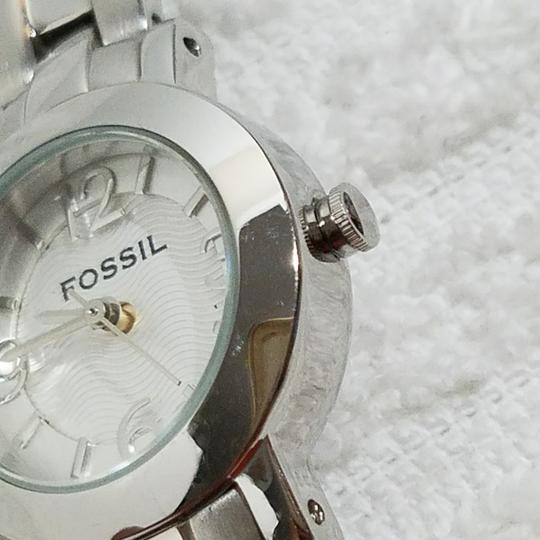 Fossil Fossil Silver Watch Dial Numbers