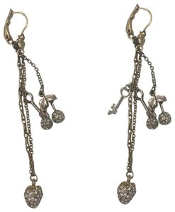 Juicy Couture Cherry Drop Earrings