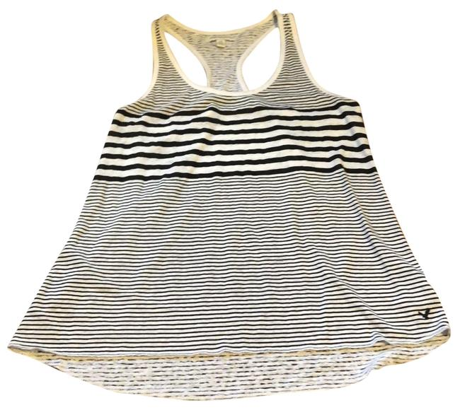 Preload https://item2.tradesy.com/images/american-eagle-outfitters-black-striped-tank-topcami-size-12-l-23334141-0-1.jpg?width=400&height=650