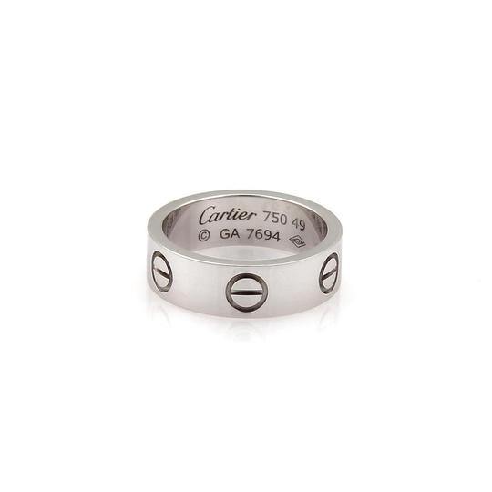 Preload https://item1.tradesy.com/images/cartier-love-18k-white-gold-55mm-band-size-49-us-475-wcert-ring-23334145-0-0.jpg?width=440&height=440