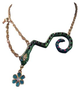 Betsey Johnson Betsey Johnson Snake necklace