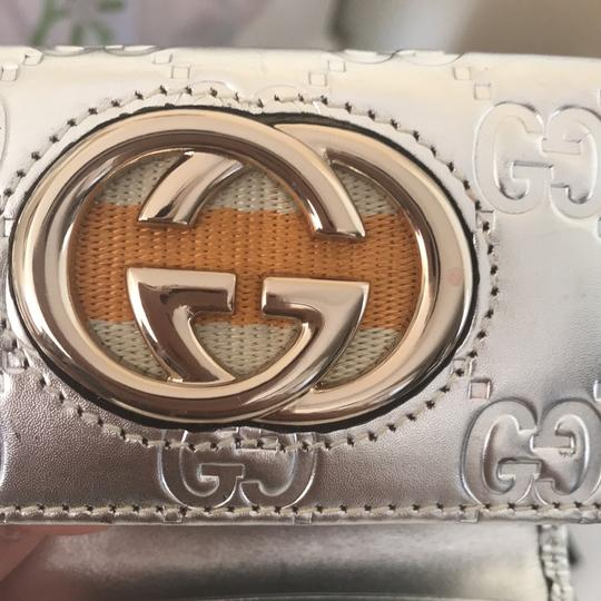 Gucci Wristlet in silver with gold