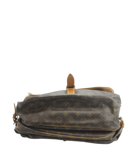 Louis Vuitton Coated Canvas Shoulder Bag