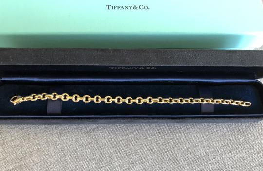 Tiffany & Co. Authentic Tiffany and co vintage 18k gold link bracelet