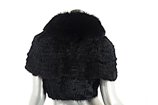 SEVENTY Fur Fur Shrug Cape