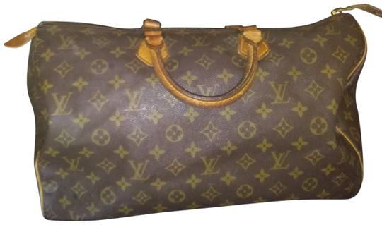 Preload https://item4.tradesy.com/images/monogram-speedy-40-brown-coated-canvas-satchel-23334298-0-1.jpg?width=440&height=440