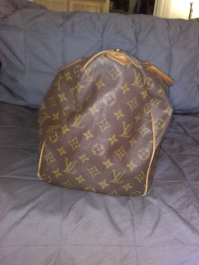 Louis Vuitton Vintage Monogram Top Handle Satchel in brown