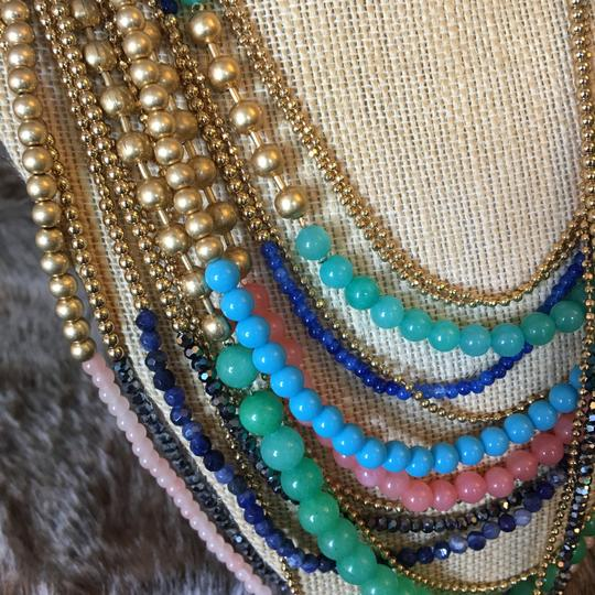 Stella & Dot Zahara Beaded Bib Necklace