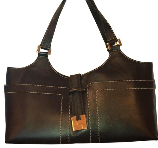 Preload https://item5.tradesy.com/images/lambertson-truex-shoulder-rich-chocolate-brown-leather-tote-23334384-0-1.jpg?width=440&height=440