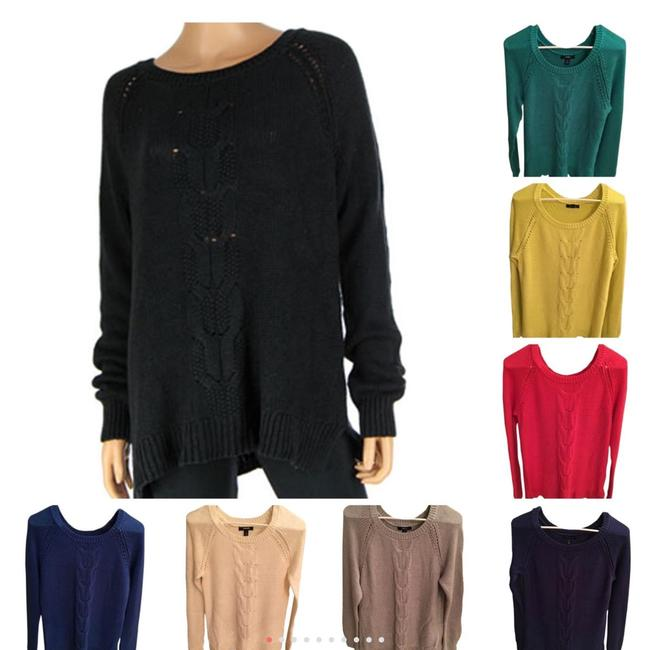 Preload https://img-static.tradesy.com/item/23334387/lands-end-various-cable-sweaterpullover-size-8-m-0-0-650-650.jpg