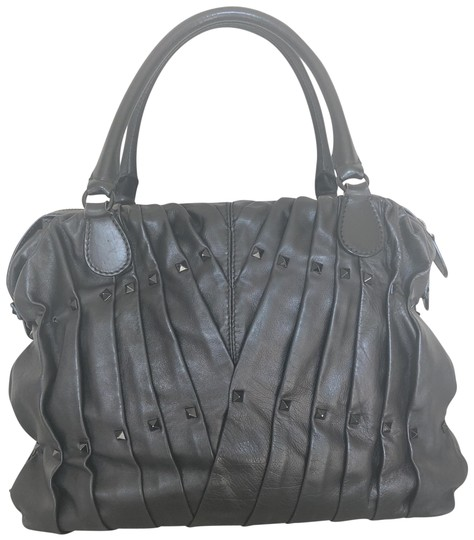 Preload https://item4.tradesy.com/images/valentino-madison-hard-with-dots-black-lambskin-leather-tote-23334393-0-1.jpg?width=440&height=440