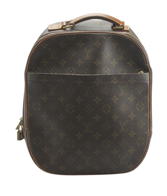 Louis Vuitton Packall M51132 Sac A Dos Monogram (148322) Brown Coated Canvas Shoulder Bag Louis Vuitton Packall M51132 Sac A Dos Monogram (148322) Brown Coated Canvas Shoulder Bag Image 1