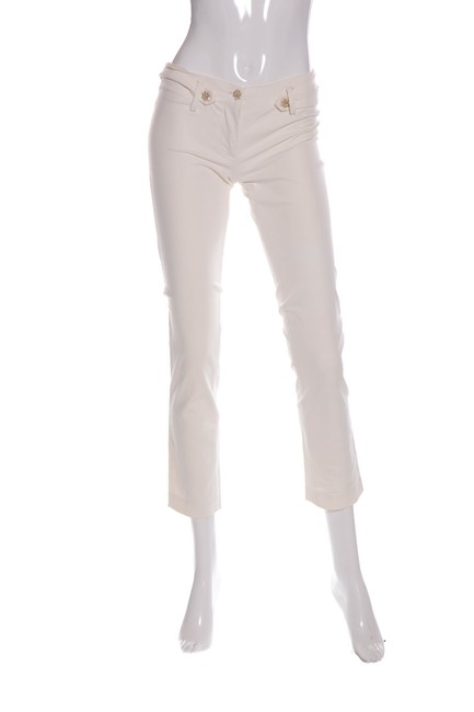 Preload https://img-static.tradesy.com/item/23334421/blumarine-white-and-crystal-embellished-leg-straight-leg-pants-size-00-xxs-24-0-0-650-650.jpg