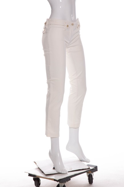 Blumarine Straight Pants White