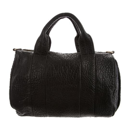 Preload https://item1.tradesy.com/images/alexander-wang-rocco-duffel-black-leather-satchel-23334450-0-0.jpg?width=440&height=440