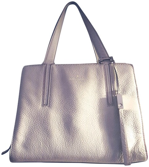 Preload https://item4.tradesy.com/images/kate-spade-dominique-greystreet-pebbled-taupe-gray-leather-satchel-23334463-0-2.jpg?width=440&height=440
