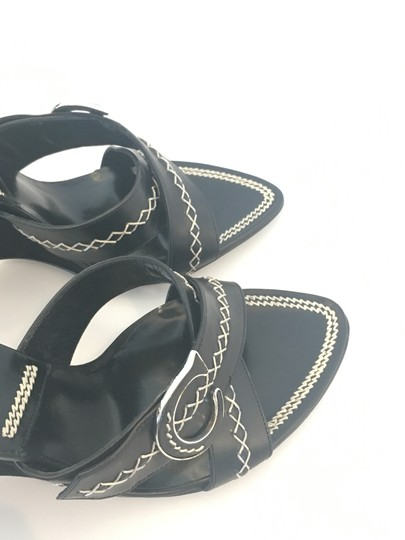 Dior Suede Logo Leather Limited Edition Black Wedges