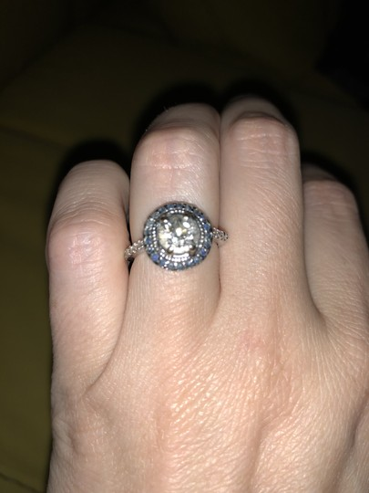 Preload https://img-static.tradesy.com/item/23334481/diamond-with-sapphires-old-european-cut-blue-surround-engagement-ring-0-1-540-540.jpg