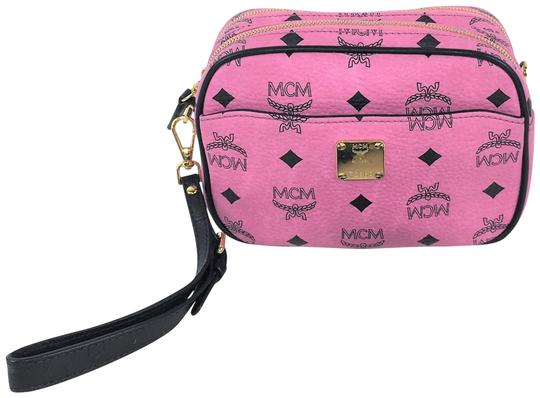Preload https://item1.tradesy.com/images/mcm-heritage-visetos-coated-small-pink-leather-cross-body-bag-23334490-0-1.jpg?width=440&height=440